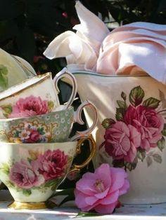 Beautiful tea time