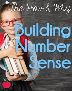 A close look at Number Sense- what it is, why it's important, and how you can work to build it in your students. This post is full of great ideas and resources!