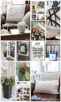 Lots of Decor, DIY and Recipe Ideas!