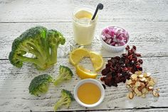 Hearty Cranberry Honey Broccoli Salad