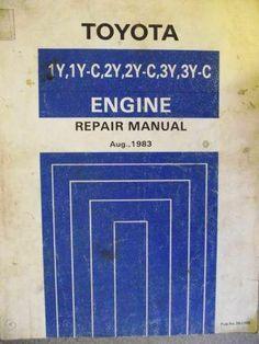 14 99 toyota 1y 1yc 2y 2yc 3y 3yc engine repair workshop manual 83 rh pinterest com Toyota Corolla 5A Engine Turbo Toyota ZZ Engine