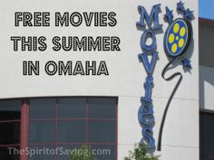 Free Movies this Summer in Omaha