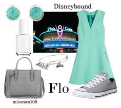 """Disneybound Flo"" by misscoco108 on Polyvore"