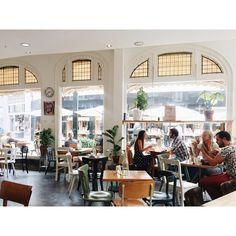 Enschede - De Broodbode @flnrs Lunch Room, Restaurant, Interior, Instagram Posts, Travel, Viajes, Indoor, Dining Rooms, Diner Restaurant