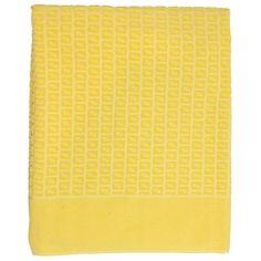 Fendi Yellow Logo Towel