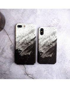 Funda Degradado blanco y negro Phone 7, Diy Phone Case, Cute Phone Cases, Iphone 8 Plus, Iphone Phone Cases, Iphone Case Covers, Case Company, Smartphone Covers, Keyboard Stickers