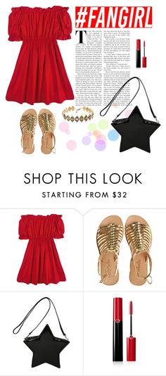 """Flouncing"" by elyherrera ❤ liked on Polyvore featuring Chicnova Fashion, Cocobelle, Giorgio Armani and Pamela Love"
