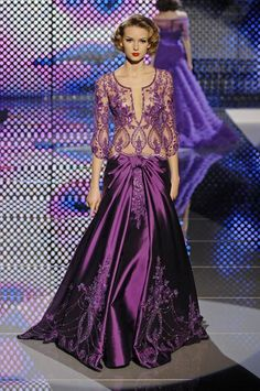 Zuhair Murad. Ummm...I would lift that waist a bit higher on the torso.