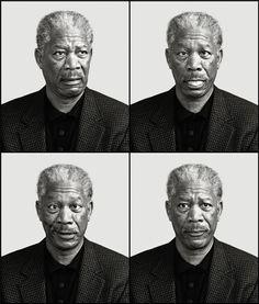 Morgan Freeman   Actors   Andy Gotts MBE