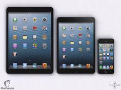 iPad 5, mini y iPhone 5