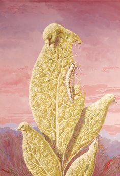 Rene Magritte - The Flavor of Tears variation