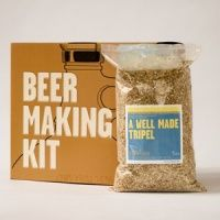 beer making kit. how fun!