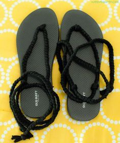 Live Love Lauren: DIY Gladiator Sandals