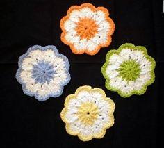 Free crochet coaster pattern