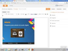.- Insertar una presentación multimedia en un blog - YouTube