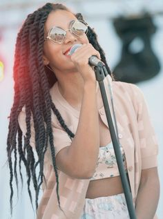 Winter Natural Hair Care - Marley Twists  Solange Knowles