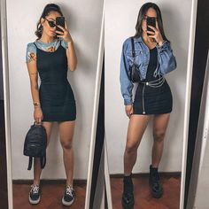 Cute Casual Outfits, Edgy Outfits, Mode Outfits, Grunge Outfits, Grunge Fashion, Look Fashion, Dress Outfits, Girl Outfits, Fashion Outfits