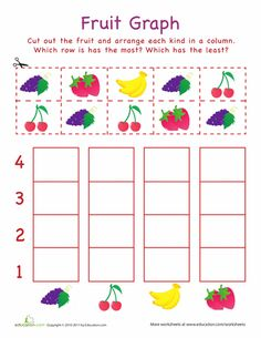 Cut-Out Graph: Hats | Worksheets and Kindergarten