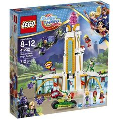Lego DC Super Hero Girls Super Hero High School, 41232, Multicolor