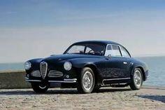 Alfa Romeo  Modell:  1900C Super Sprint Corto Gara Stradale Touring  Jahr:  1951-1953  Kunst:  Coupe