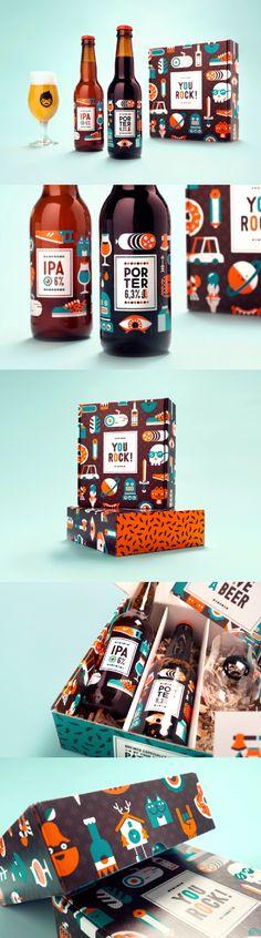 You Rock! Packaging Design by Patswerk #Branding #Design #Identity