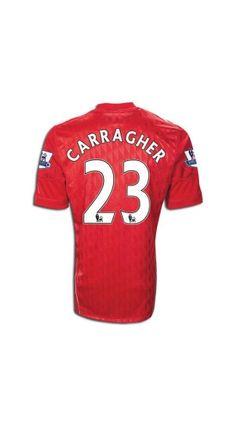 1d65b342b55 Cheap 11 12 Liverpool Carragher 23 Home football uniform