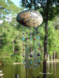Shell Windchimes With Glass Beads - Bing Images