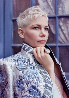 Harper's Bazaar UK February 2018 Michelle Williams by Agata Pospieszynska