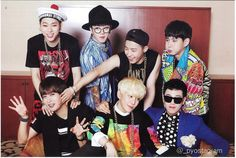 The cutest family #zico #parkkyung  #jaehyo #ukwon #taeil #pyo #bbomb #blockb #ot7