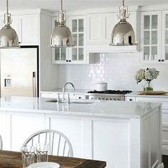 Kitchen Updating Ideas Final choice Black handles colour not style White cupboards Bench top colour Panelling - Home Decor Kitchen, Kitchen Furniture, Kitchen Interior, New Kitchen, Kitchen White, Kitchen Sink, Classic White Kitchen, Square Kitchen, Neutral Kitchen