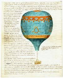 Letter from a father to his son after witnessing a Montgolfier brothers ascension.