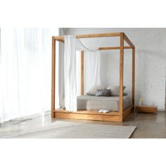 Only canopy bed I've seen that looks like it's made for adults. Love it!