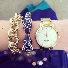 A little Kate Spade arm candy for you.