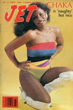 Jet Magazine, Black Magazine, Vintage Black Glamour, Vintage Beauty, Afro, Chaka Khan, Black Girl Aesthetic, Vintage Magazines, Beautiful Black Women