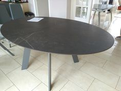 Extendable table Moon in Dekton KELYA top and stone MATT legs. Available in other sizes and configurations. Delivered to our client in Stanmore. Leather Bed, Sofa Design, Modern Bedroom, Contemporary Furniture, Dining Table, Moon, Legs, Cabinet, Home Decor