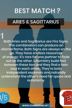 Find your Zodiac Signs Compatibility for all zodiac signs, for couples, relationships and love matches and find your Couple shirts to match. Aries And Sagittarius Compatibility, Zodiac Sagittarius Facts, Sagittarius Personality, Aries And Aquarius, Sagittarius Love, Aries Quotes, Pisces Moon, Signs Compatibility, Aquarius Relationship