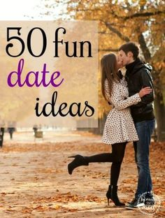 50 Fun Date Ideas on a Budget. Date ideas came so easy before we had children. Finding a babysitter can be expensive. Especially once you have several children to watch. How do you continue to date your husband after the honeymoon is long over? That's where this list of 50 Fun Date Ideas comes in.