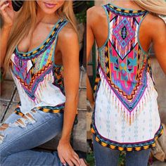 Fashion Womens Summer Vest Top Sleeveless Shirt Blouse Casual Tank Tops T-Shirt #ebay #Fashion