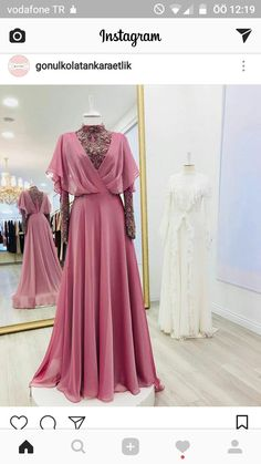 I think this is such a fun dress & it's great that it also has this air of intelligence & almost gives off this princessy vibe which I'm not usually all for but i really like in this piece Abaya Fashion, Muslim Fashion, Modest Fashion, Fashion Clothes, Fashion Dresses, Women's Fashion, Indian Gowns Dresses, Evening Dresses, Prom Dresses