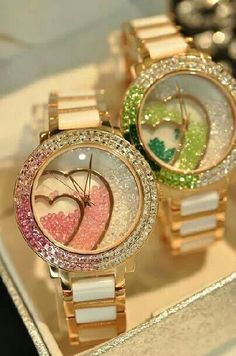 GORGEOUS HEART WATCHES