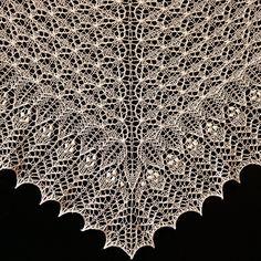 Ravelry: Crinoline Lace Shawl pattern by Alina Appasov