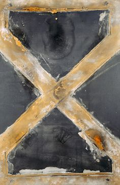 'Grande Équerre' (Great Square) by Antoni Tàpies, 1962