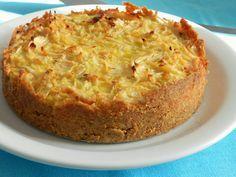 Torta de repolho levíssima (Pitadinha)