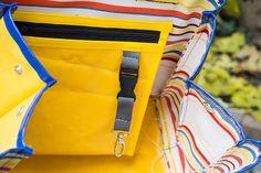 Kelly Bag aus Plane blau/gelb Shops, Kelly Bag, Planer, Diaper Bag, Bags, Fashion, Blue Yellow, Pagan, Handbags