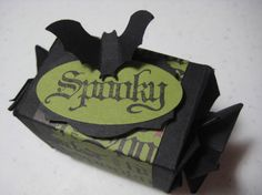 Spooky Candy Wrapper Die Treat Box
