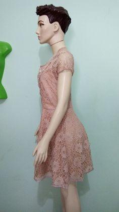 #Vestido de renda #atelierdecosturacleoflor