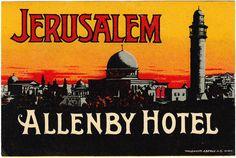 https://flic.kr/p/8BveUu   Palestina - Gerusalemme - Hotel Allenby