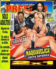Mexican horror magazines Lumbre satanica