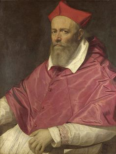 Scipione Pulzone, Portrait of a Cardinal (Cardinal Savelli?), 1596-98, London, National Gallery