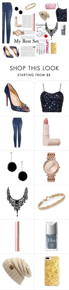 """""""Untitled #199"""" by katiephan on Polyvore featuring Christian Louboutin, 2LUV, Lipstick Queen, Tuleste, Christian Dior and Casetify"""